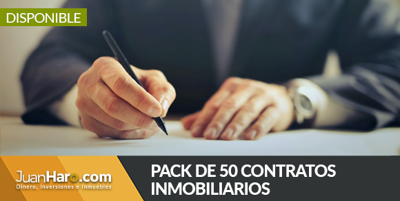 Pack de 50 contratos inmobiliarios