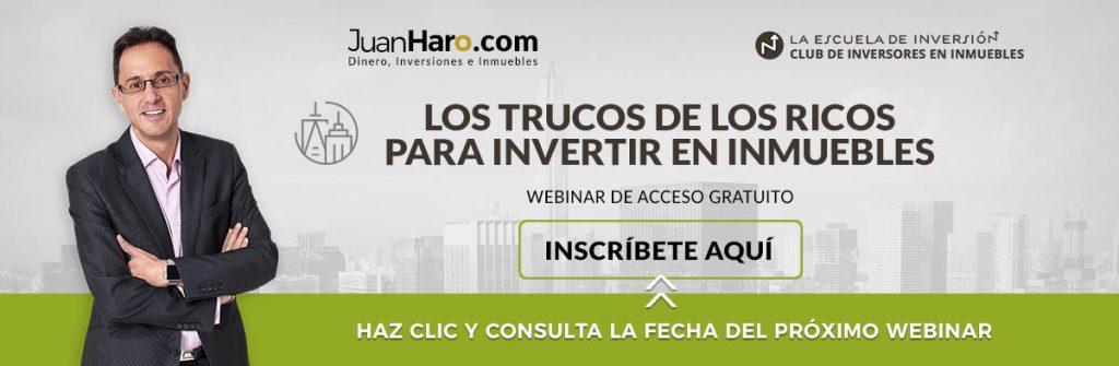 Webinar Club de inversores en inmuebles